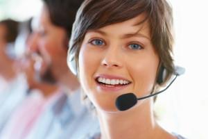 weibliche Kunden Support
